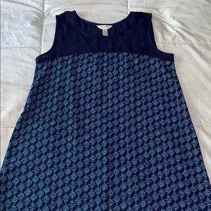 ma cherie maternity size medium shirt, blue